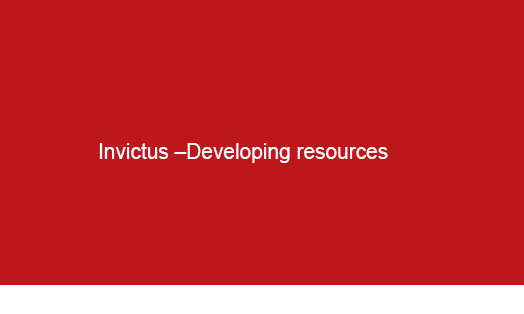 Logo Invictus-Developing Resources