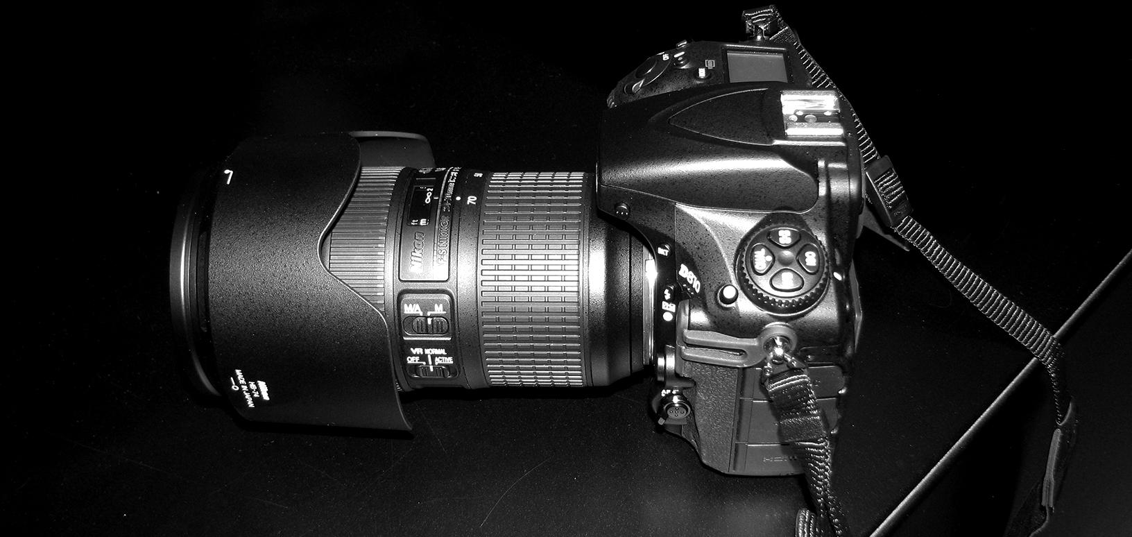 macchina fotografica Nikon 810