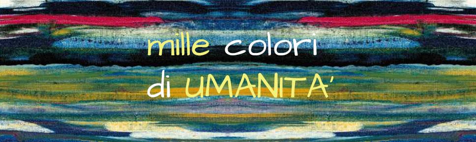 """Copertina """"Mille colori di Umanità"""""""
