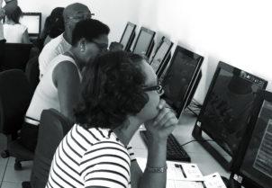 Progetto VISA: foto corsi di informatica