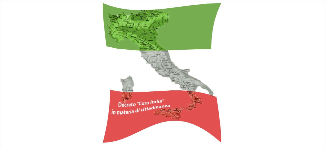 Bandiera italiana - Decreto cura Italia
