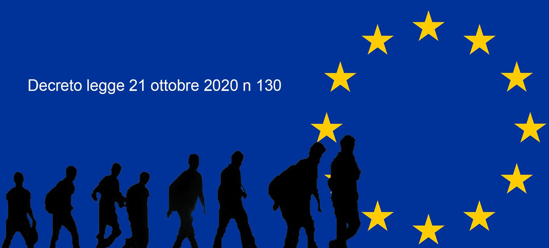 Decreto legge 21 ottobre 2020